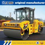 XCMGの公式の製造業者Xd122e 12tonの二重ドラム振動の道ローラー