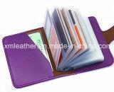 2017 het nieuwe Leer van de Manier Pu Dame Card Case Women Wallets