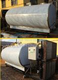 Het Koelen van de Melk van het roestvrij staal de Horizontale Tank van de Opslag (ace-znlg-O2)