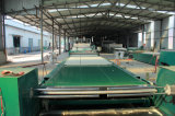 Produzione della coperta della fibra di ceramica/riga della strumentazione