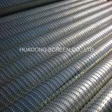 Cartuchos pequenos da tela do entalhe do fio Vee de China Ss para a indústria química com acoplamento rosqueado ou flange