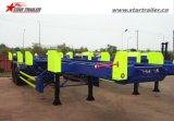 販売のための2つのAxles40-60tonsの容器ターミナルトレーラーシャーシ