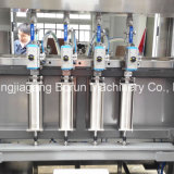 Cozinhando a maquinaria de enchimento da planta de engarrafamento do petróleo comestível