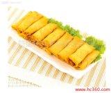 Ressort plat fabriqué à la main Rolls de rectangle du légume 15g/Piece de 100% congelé par IQF