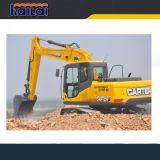 Shandong Carter CT150 15 toneladas de máquinas escavadoras hidráulicas da esteira rolante para a venda