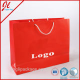 Farben-Falz kundenspezifisches Papierbeutel-kaufendes Papierbeutel-Drucken-Firmenzeichen
