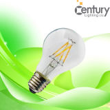 DimmableのエネルギーセービングLamp A60 A19 4W E26/E27/B22 Filament LED Candle Bulb Lamp LED Lighting LED Filament Bulb