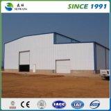 Costruzione prefabbricata del gruppo di lavoro del magazzino della struttura d'acciaio in Africa