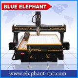 Máquina 1324 do gravador da linha central 3D do router 4 do CNC de Ele para a gravura de pedra
