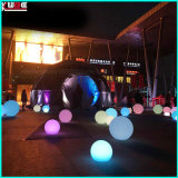 Iluminado Pirámide flotantes Pebble piscina Decoración Luces