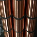 Leitfähigkeit 21%Iacs-45%Iacs Copper Clad Steel Wire CCS für Pipe Insulation Wire