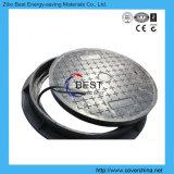 Сверхмощная крышка люка -лаза стеклоткани сточной трубы круга D400
