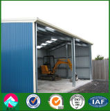 Стальное Structure Garage с EPS Sanwich Panel Wall
