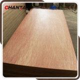 Madera contrachapada comercial de la madera dura roja para los muebles de la fábrica de Linyi
