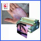 Weißes anhaftendes Latex Papier-Plastiklamellieren
