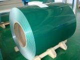 La qualité a enduit la bobine d'une première couche de peinture galvanisée PPGI