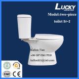 5#-2 se separan/tocador de cerámica de dos piezas del cuarto de baño de Washdwon en mercancías sanitarias