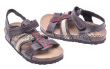 Le santal en cuir confortable badine les chaussures de Borken (SDBK3006)