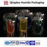 FDA는 주둥이를 가진 주스 알루미늄 호일 Doypack 플라스틱 주머니를 분류한다