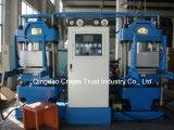 machine de la presse 100t hydraulique pour les silicones en caoutchouc/machine de vulcanisation complètement automatique de presse pour les produits en caoutchouc