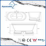 Badezimmer-reine nahtlose freistehende Bad-acrylsauerwanne (AB6515)