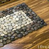 Естественный половой коврик камня камушка