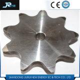 304 Ketting van de Rol van het roestvrij staal de Nylon met de Tanden van de Gehechtheid