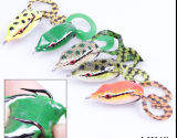 Richiamo morbido dei pesci del nero di richiamo della rana di richiamo della rana di buona elasticità
