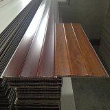 Projeto 8*250mm do teto do painel da laminação do PVC da decoração interior lisos/sulco