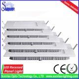 18W에 의하여 중단되는 정연한 LED 위원회 또는 아래로 또는 천장 빛 또는 램프