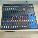Miscelatore mescolantesi del DJ dell'audio della sezione comandi delle 16 Manica PRO