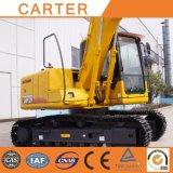 Máquina escavadora resistente hidráulica Multifunction quente do Backhoe da esteira rolante das vendas CT150 (15T)