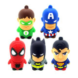 PVC USB Pendrive de lecteur flash USB d'OEM Customed