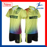 Healong Qualitäts-volle Sublimation-Unisexbadminton-Hemd