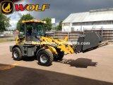 늑대 1.6 톤 세륨 바퀴 로더, 판매를 위한 바퀴 로더