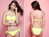 Grande bikini del Boob del fiore aperto caldo di riserva sexy della spiaggia