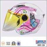 Fushiaの落書きのスクーターまたはモーターバイクまたはオートバイの開いた表面ヘルメット(OP203)
