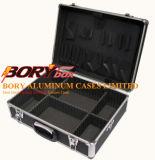Случай /Brief алюминиевых инструментов/оборудования brandnew качества/коробка, крупноразмерная чернота