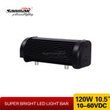 barra chiara di riga LED del CREE 120W di 10.5inch 10W doppia fuori strada