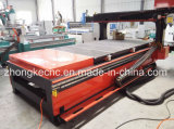 Eixo que move da mudança automática da ferramenta de 180 graus o router de madeira do CNC