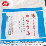 Sachet en plastique tissé par pp industriel de produit chimique et d'engrais de l'utilisation 50kg