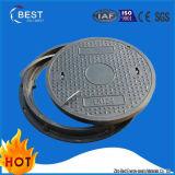 Coperchi di botola di gomma di pressione della resina rotonda C250 con il blocco per grafici