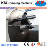 Máquina de crimpagem de abertura lateral de tela sensível ao toque (KM-83A)