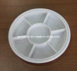 Conteneur étanche de cadre de déjeuner de Bento de trois compartiments