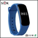 Le bracelet de forme physique de pression de l'oxygène de sang le plus neuf de Sek avec le bracelet sec de Bluetooth de fréquence cardiaque pour le cadeau de Noël