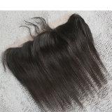 ブラジルのRemyの毛のまっすぐな13*4inchフリースタイルの完全なレースのFrontal