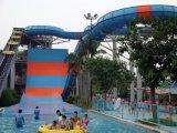 Glissière d'eau géante de boomerang pour le parc de l'eau, parc d'attractions
