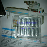 Empaquetadora de la ampolla farmacéutica automática del control de motor servo