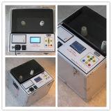 Macchina automatica della prova di resistenza dielettrica del petrolio del trasformatore di Une 21 (DYT)