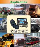 Het dubbele Systeem van de Mening van de Vierling DVR van de Bus Achter (df-737CH314)